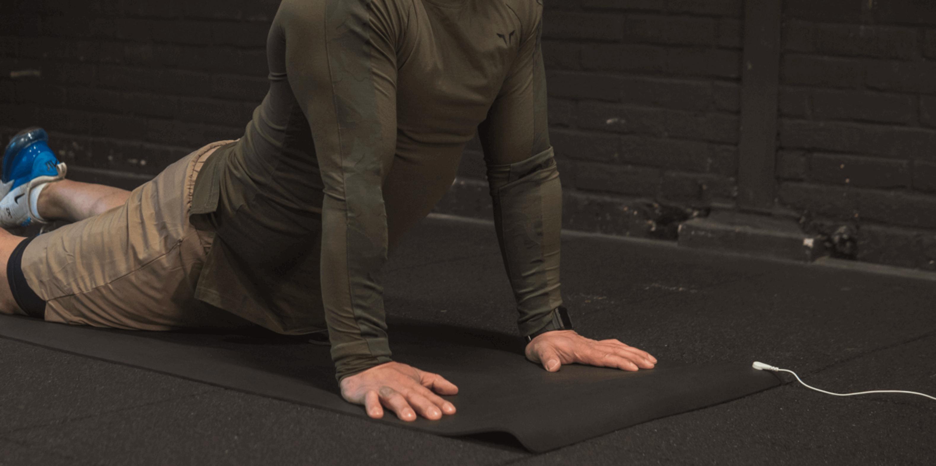 aarden op Aardings yogamat
